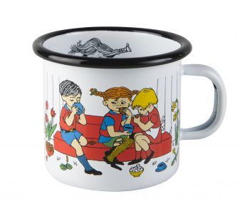 Pippi Cup of Coffee kubek emaliowany 250 ml MUURLA